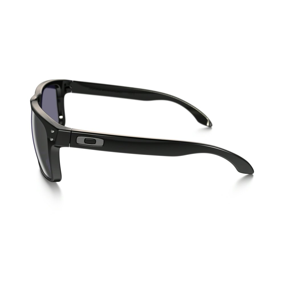 a29c0de9544 Polarized Oakley Holbrook Sunglasses Polished Black OO9102-02