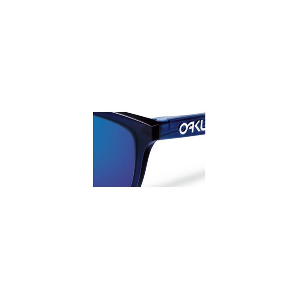 Oakley Frogskins Sunglasses Alpine Bluebird OO9013-74 9b27237e07