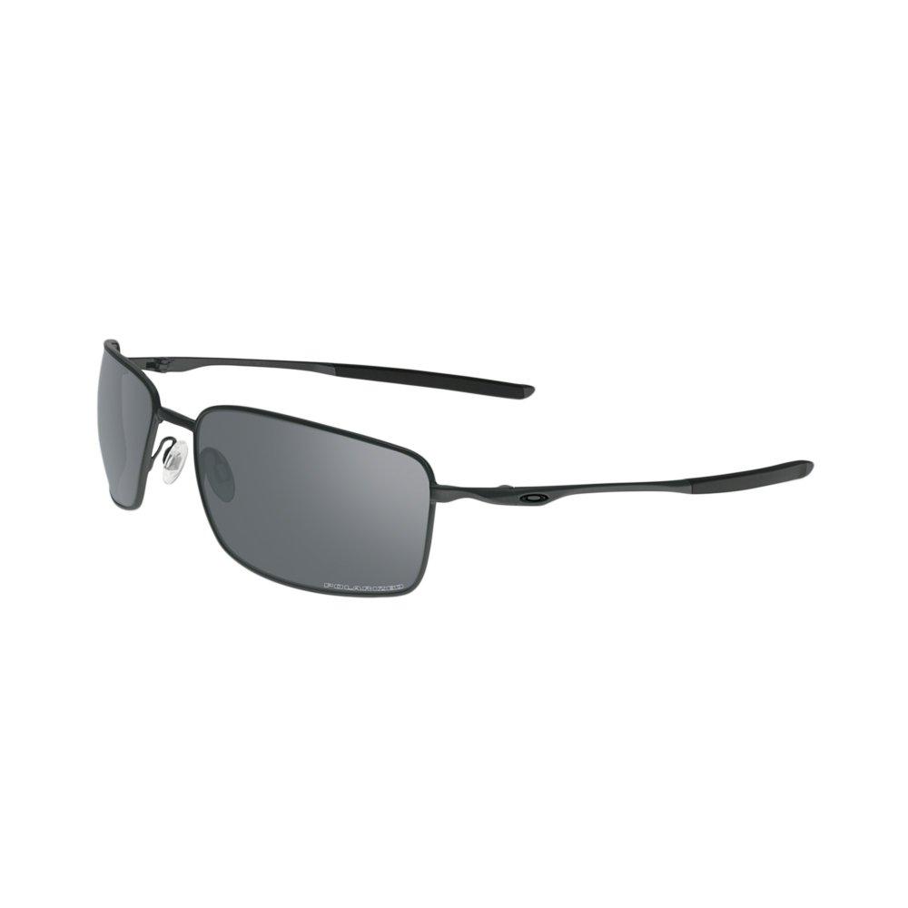 90e1264955d3d Polarized Oakley Square Wire Sunglasses Carbon OO4075-04