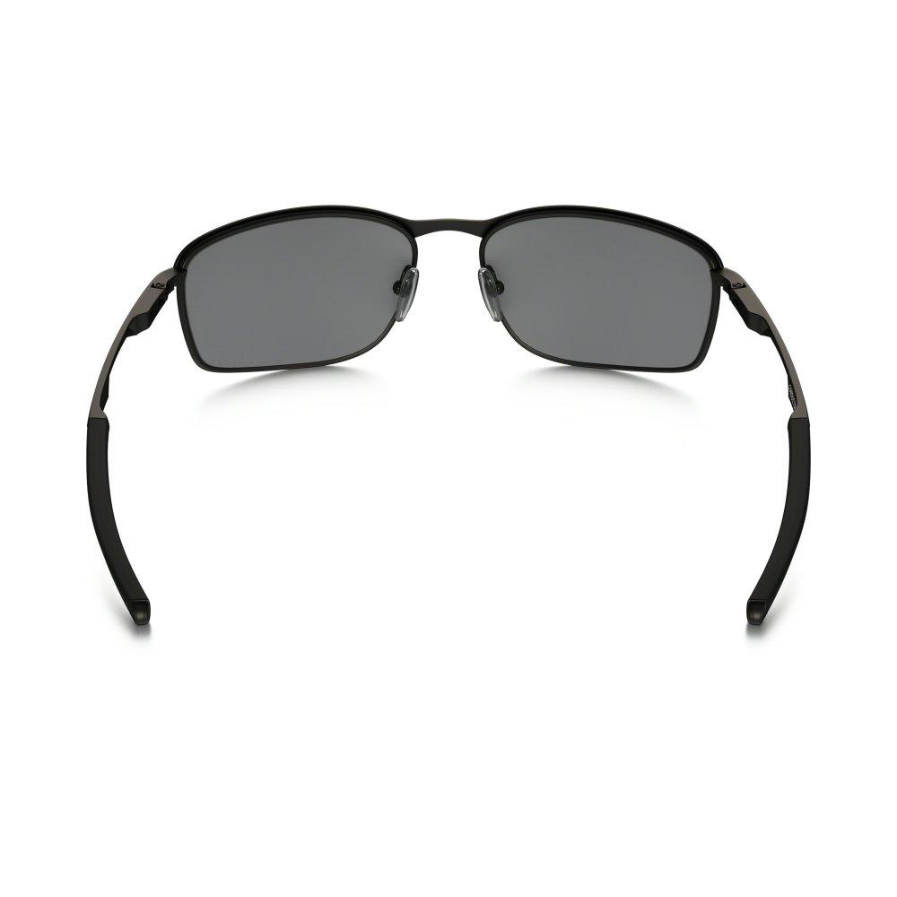 08166fe756 Polarized Oakley Conductor 8 Sunglasses Matte Black OO4107-02