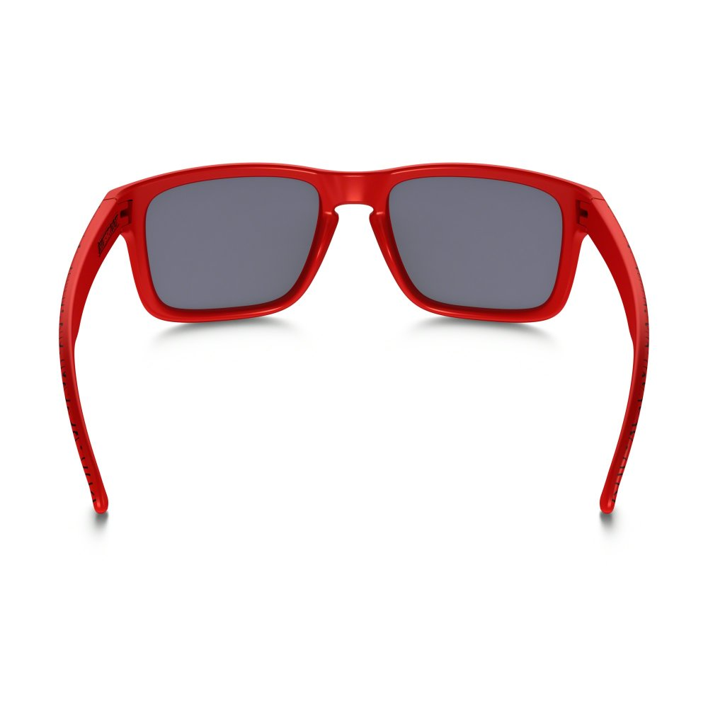 09dd58e4e83e7 cheap oakley holbrook matte black positive red sunglasses 3a0f6 3bcc9  50%  off oakley holbrook 77c87 534a9