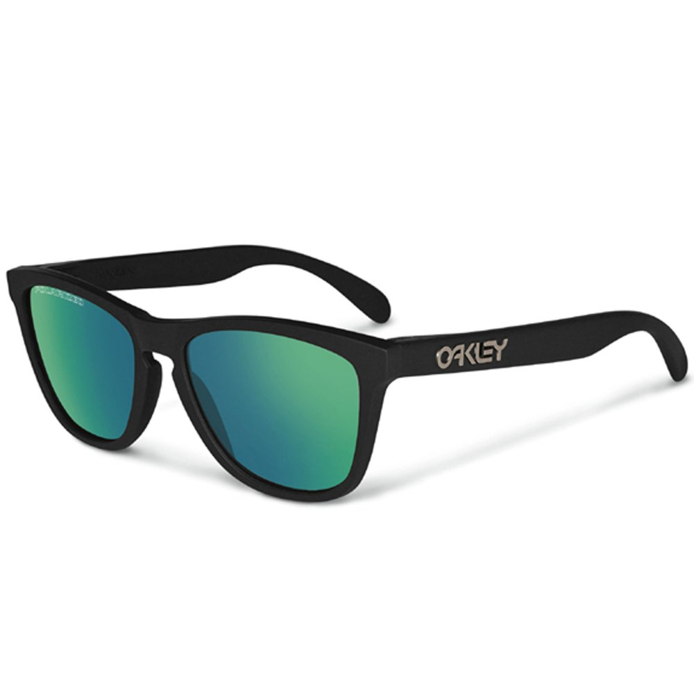 a392d9fdba2 Polarized Oakleys Frogskin Sunglasses Matte Black 24-404
