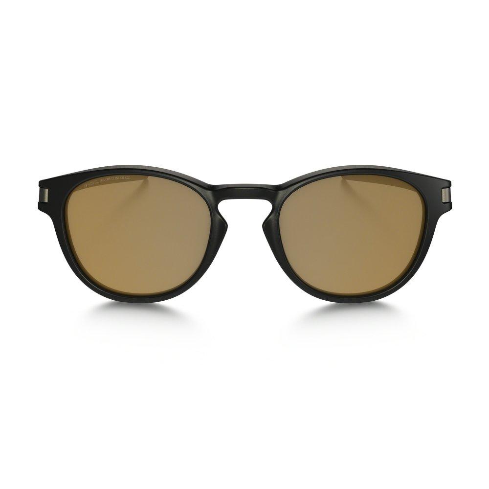 ec5a10bd9a Polarized Oakley Latch Sunglasses Matte Black OO9265-07