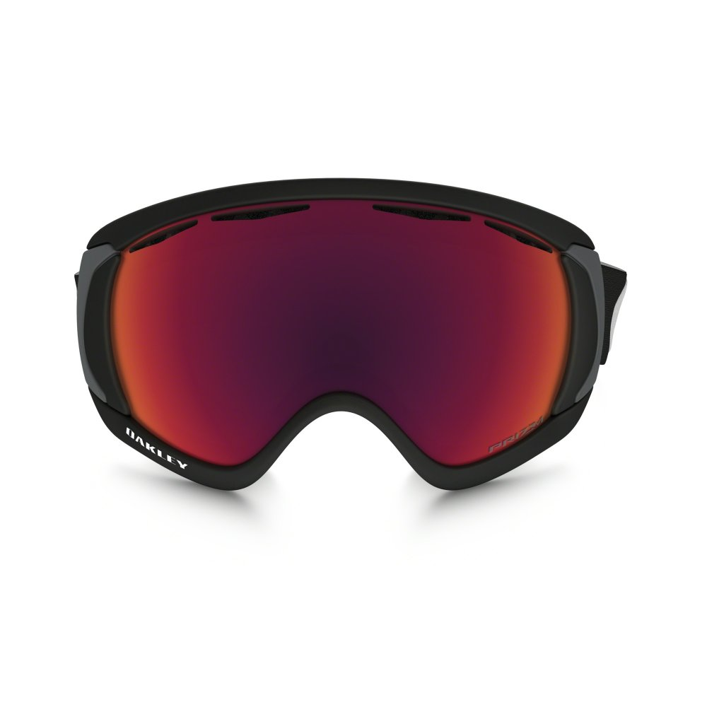 Prizm Oakley Canopy Snow Goggle Matte Black OO7047-43 3ae4bfaefad5d