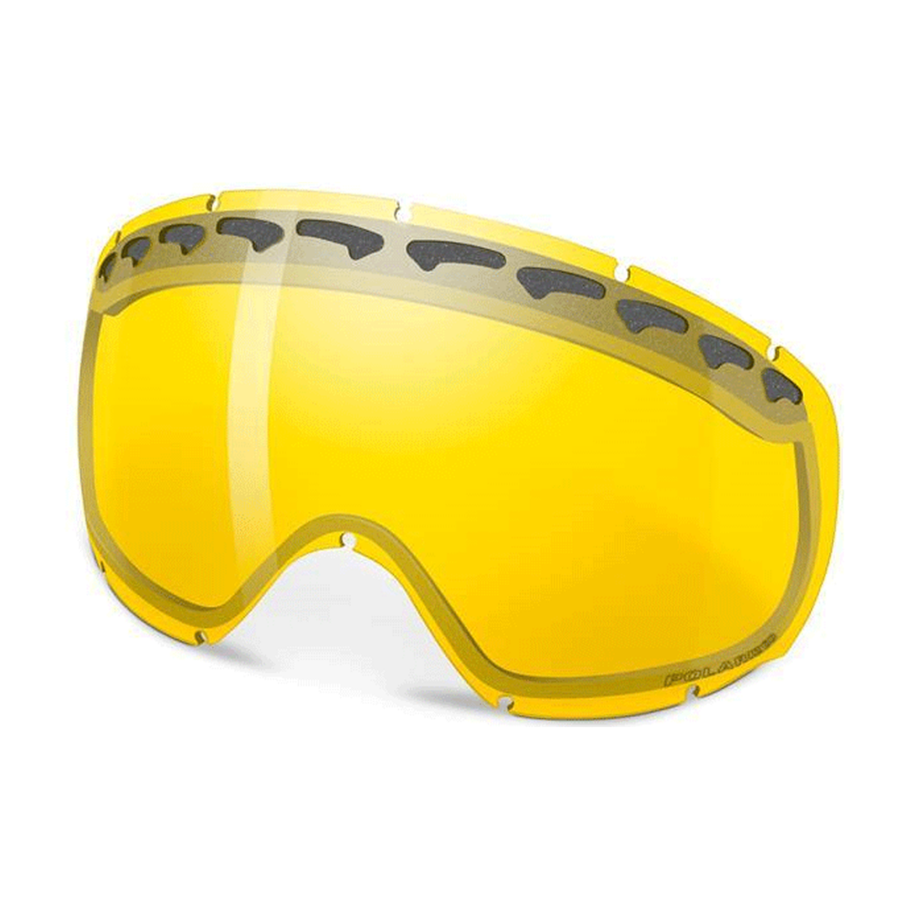 fd581280dc67 Oakley Crowbar Snow Goggle Replacement lens HI Amber Polarized Oakley  Crowbar Snow Goggle Replacement lens HI Persimmon 02-119
