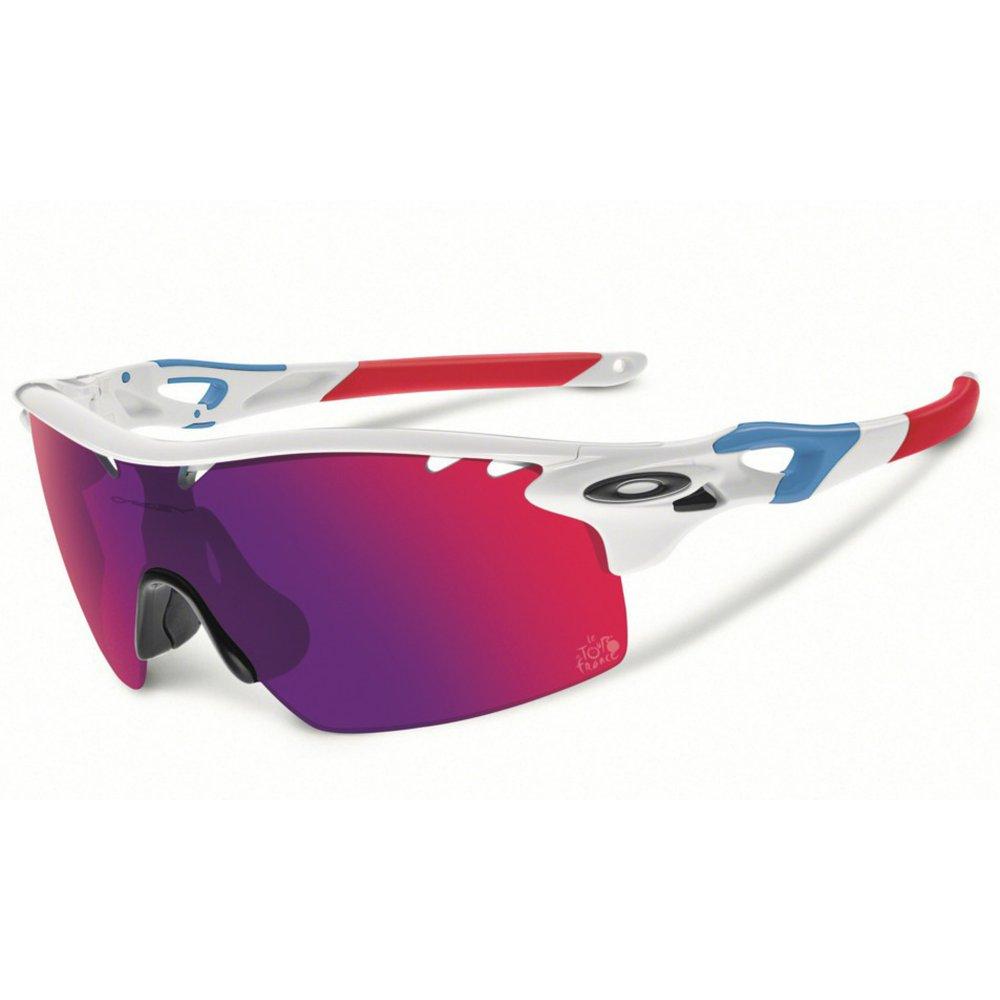 Oakley Radarlock Sunglasses  oakley radarlock xl straight arm polished white oo9196 04