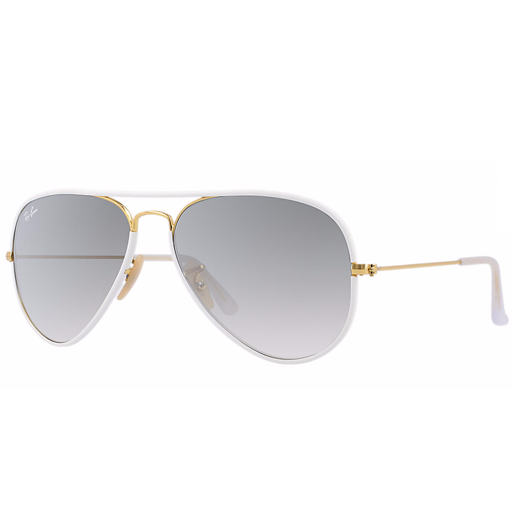 ray ban aviator full color sunglasses shiny gold rb3025jm 146 32. Black Bedroom Furniture Sets. Home Design Ideas