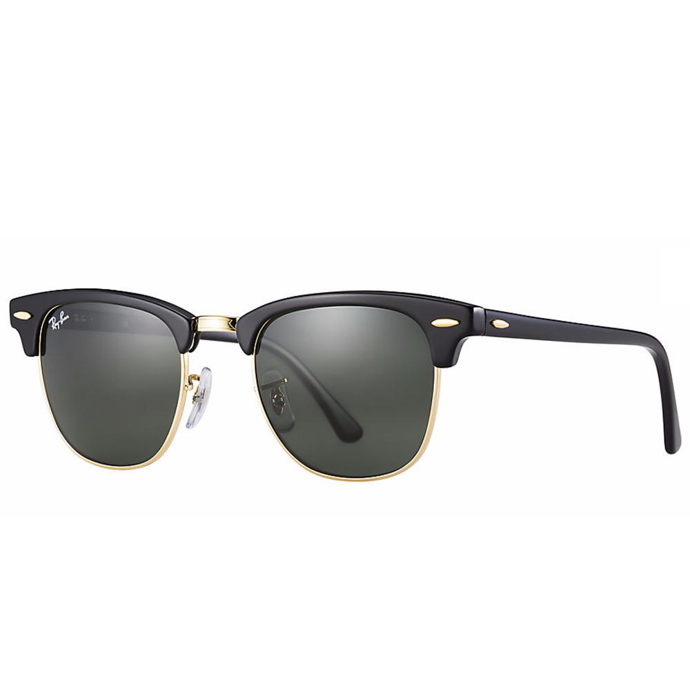 ray ban clubmaster classic sunglasses ebony arista rb3016. Black Bedroom Furniture Sets. Home Design Ideas