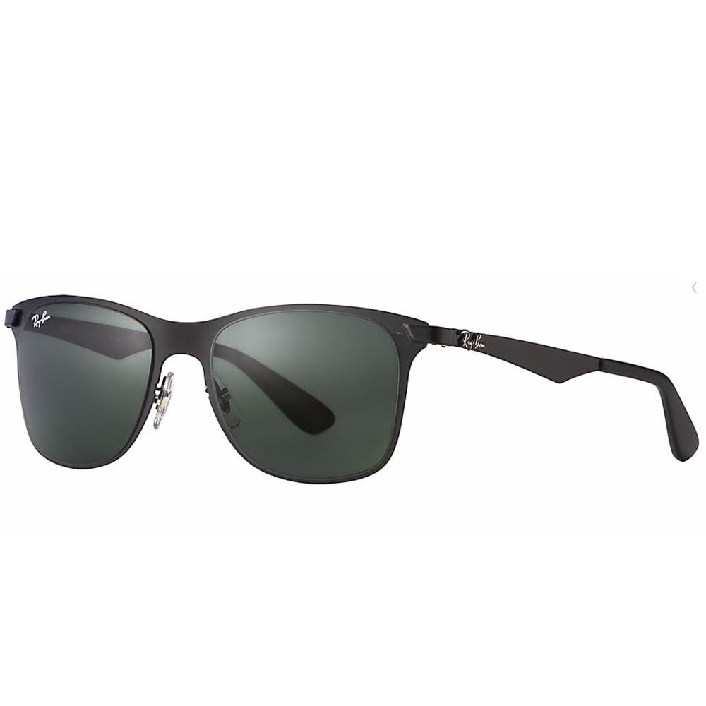6687572be5 Ray-Ban Wayfarer Flat Metal Sunglass Matte Black RB3521 006 71
