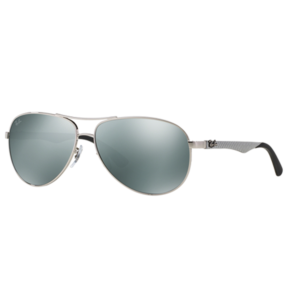 d799557120fea Ray-Ban RB8313 Sunglasses Silver RB8313 003 40