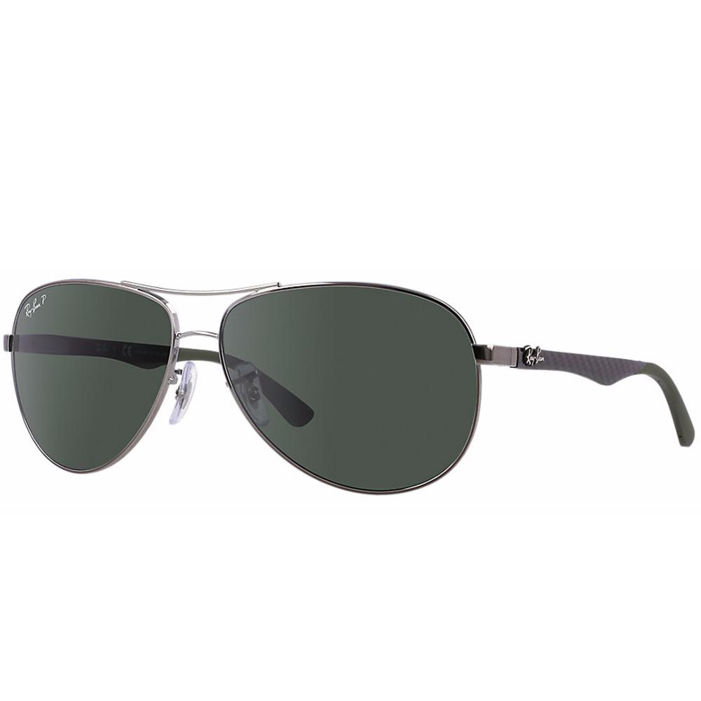 c1144e1150 Polarized Ray-Ban RB8313 Sunglasses Gunmetal RB8313 004 N5