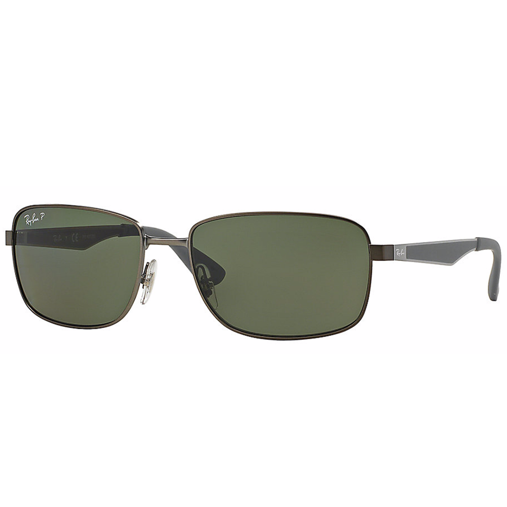 d8b97d0016 Polarized Ray-Ban RB3529 Sunglass Matte Gunmetal RB3529 029 9A Small