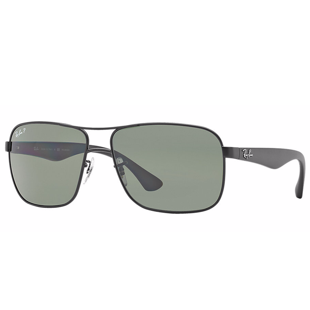 88445762381 Polarized Ray-Ban RB3516 Sunglass Gunmetal RB3516 006 9A