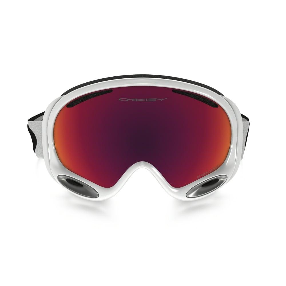Prizm Oakley A Frame 2 0 Snow Goggle Polished White Oo7044 50