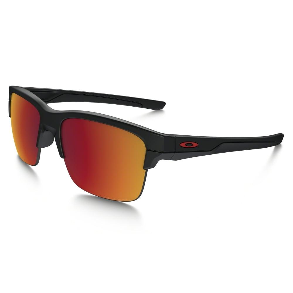 Oakley Batwolf Lenses >> Polarized Oakley Thinlink Sunglasses Matte Black OO9316-07