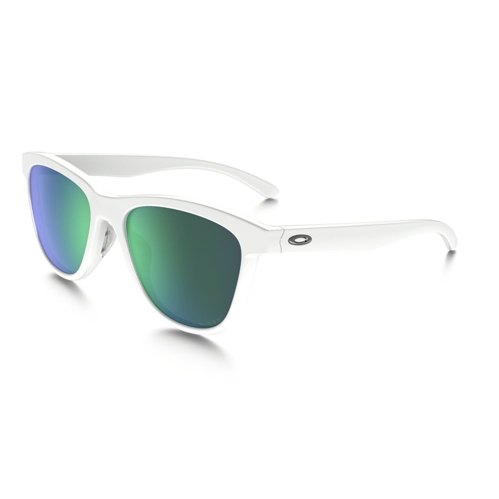 a32d038ca2 Polarized Oakley Moonlighter Sunglasses Polished White OO9320-06