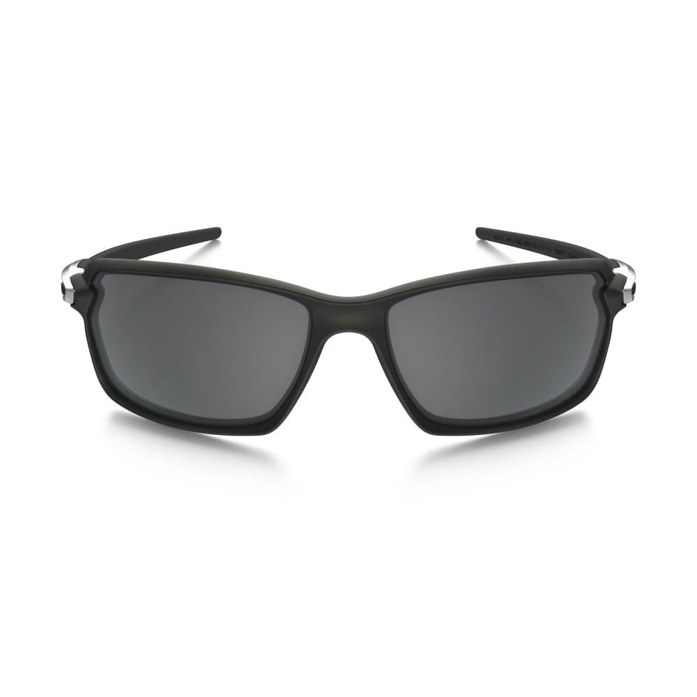 Polarized Oakley Carbon Shift Sunglasses Matte Black OO9302-03