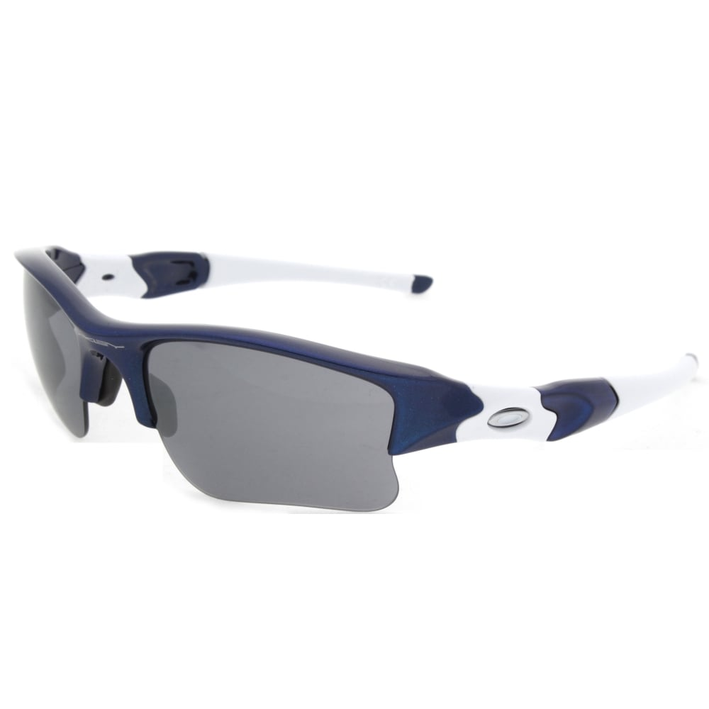 e07c0ebde5 Oakley Flak Jacket XLJ Sunglass Team Navy Blue 03-931