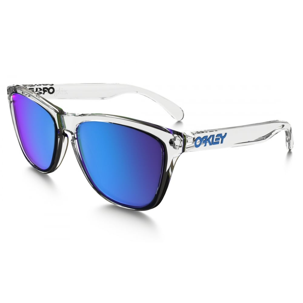 3b8d51a0b0 Oakley Frogskins Sunglasses Polished Clear OO9013-A6