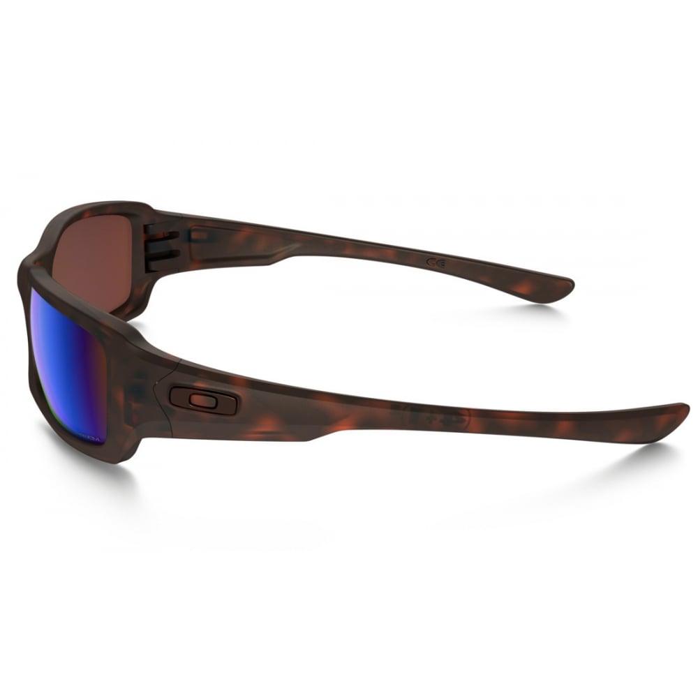 6aafd6e5d4 Polarized Oakley Prizm Fives Squared Sunglasses Matte Tortoise OO9238-17