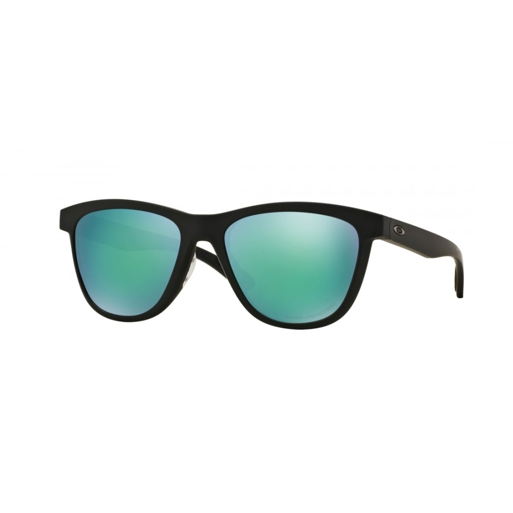 845b154e40 Polarized Oakley Moonlighter Sunglasses Matte Black OO9320-12