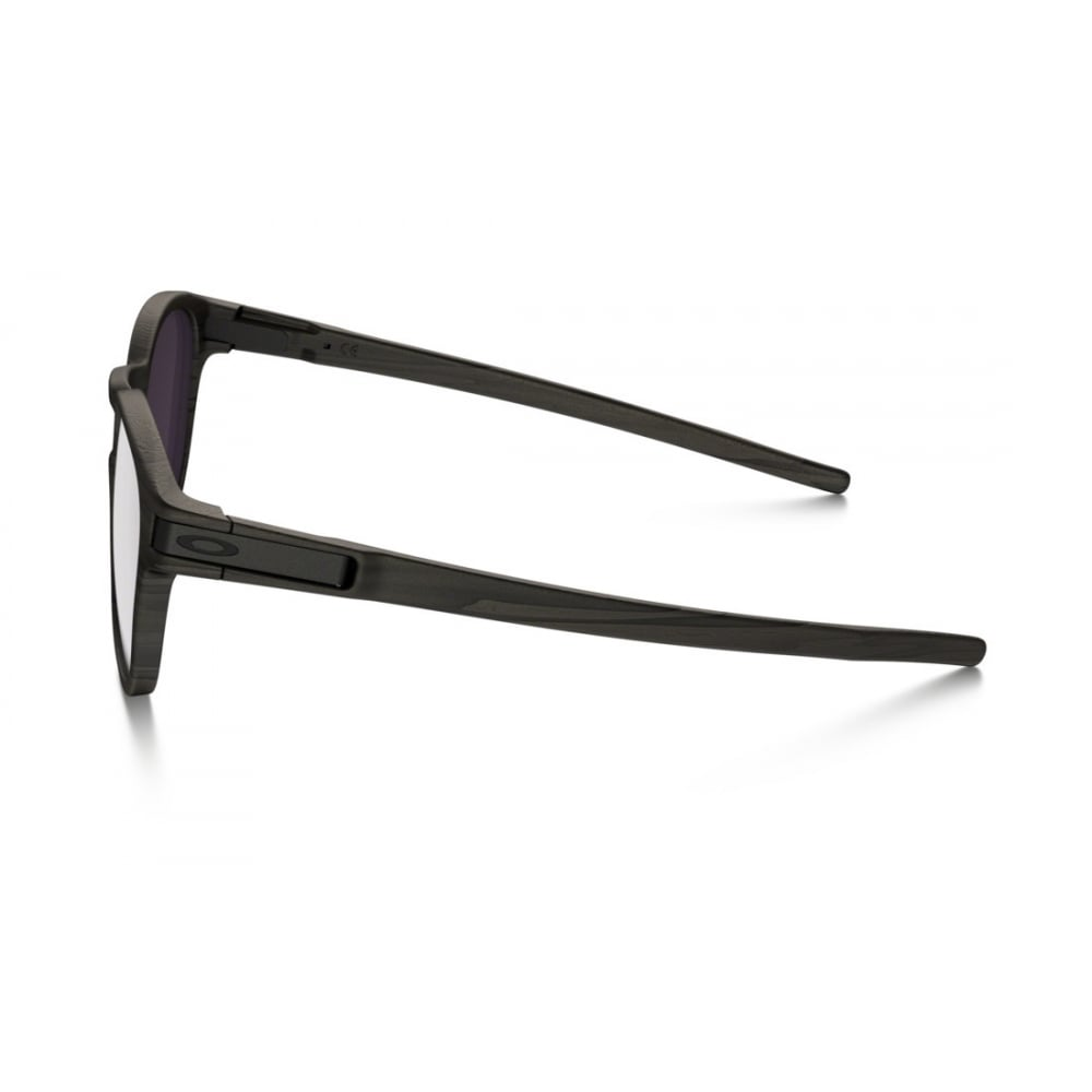 5d3554dc0b19d Polarized Oakley Prizm Latch Sunglasses Woodgrain OO9265-12
