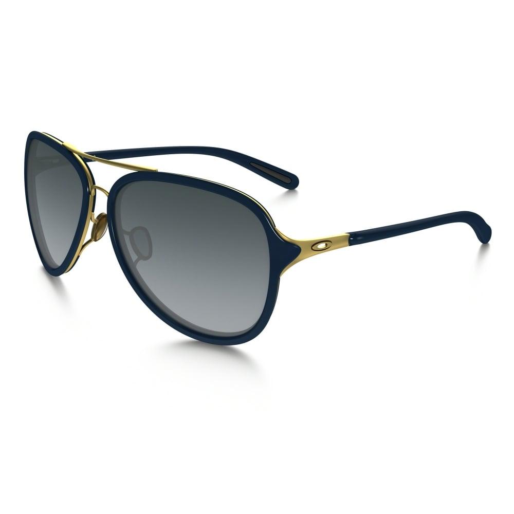 988452248e Oakley Kickback Sunglasses Satin Gold Navy OO4102-03