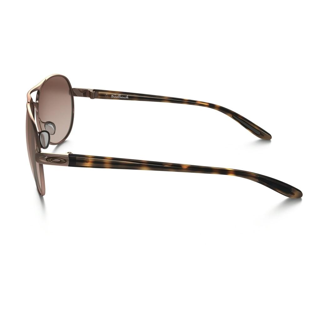 203905fedd Oakley Feedback Sunglasses Rose Gold OO4079-01