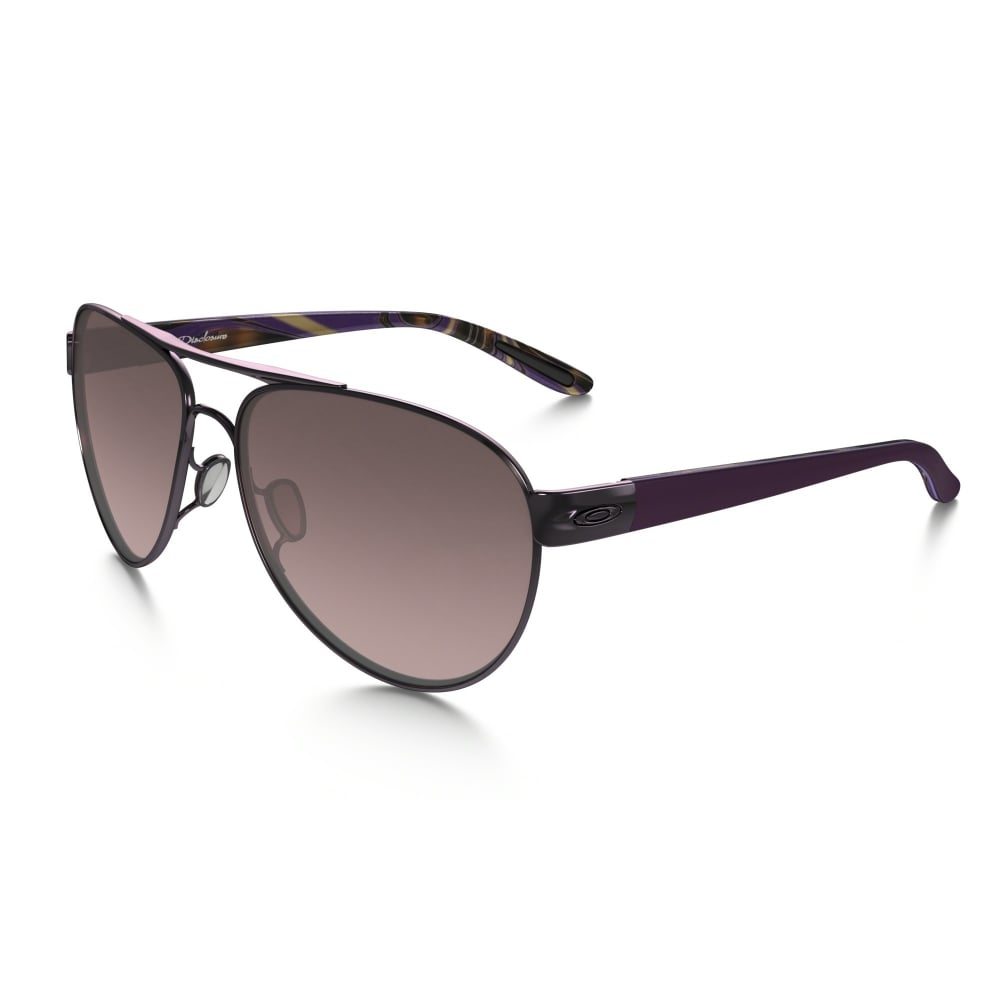 Oakley Women\'s Disclosure Sunglasses Polished Blackberry OO4110-01