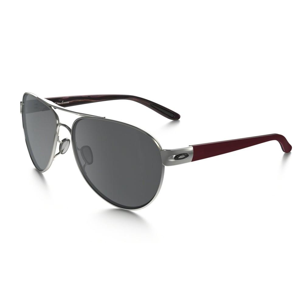 5122757b42108 Oakley Disclosure Sunglasses Polished Black Ice OO4110-03