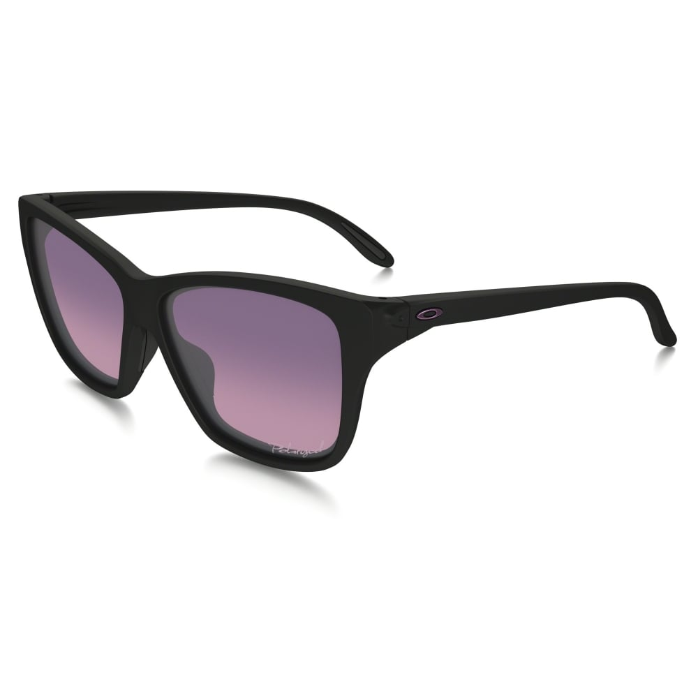 78cd9ed8d6 Polarized Oakley Women s Hold On Sunglasses Polished Black OO9298-02