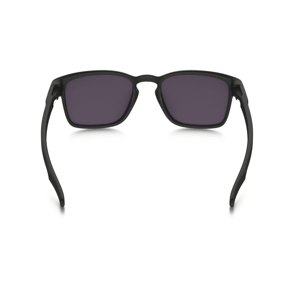 bdb560297a Polarized Oakley Prizm Latch Squared Sunglasses Matte Black OO9353-02