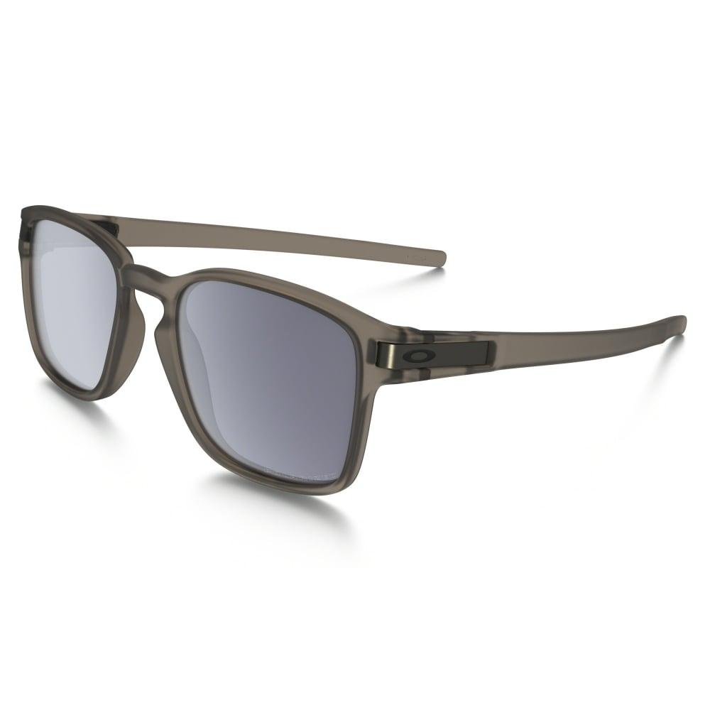 Oakley Latch Squared >> Polarized Oakley Latch Squared Sunglasses Matte Sepia Oo9353 05