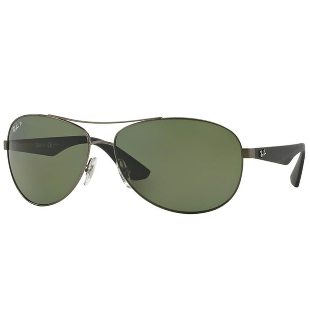 d9c2085669a Polarized Ray-Ban RB3526 Sunglasses Matte Gunmetal RB3526 029 9A