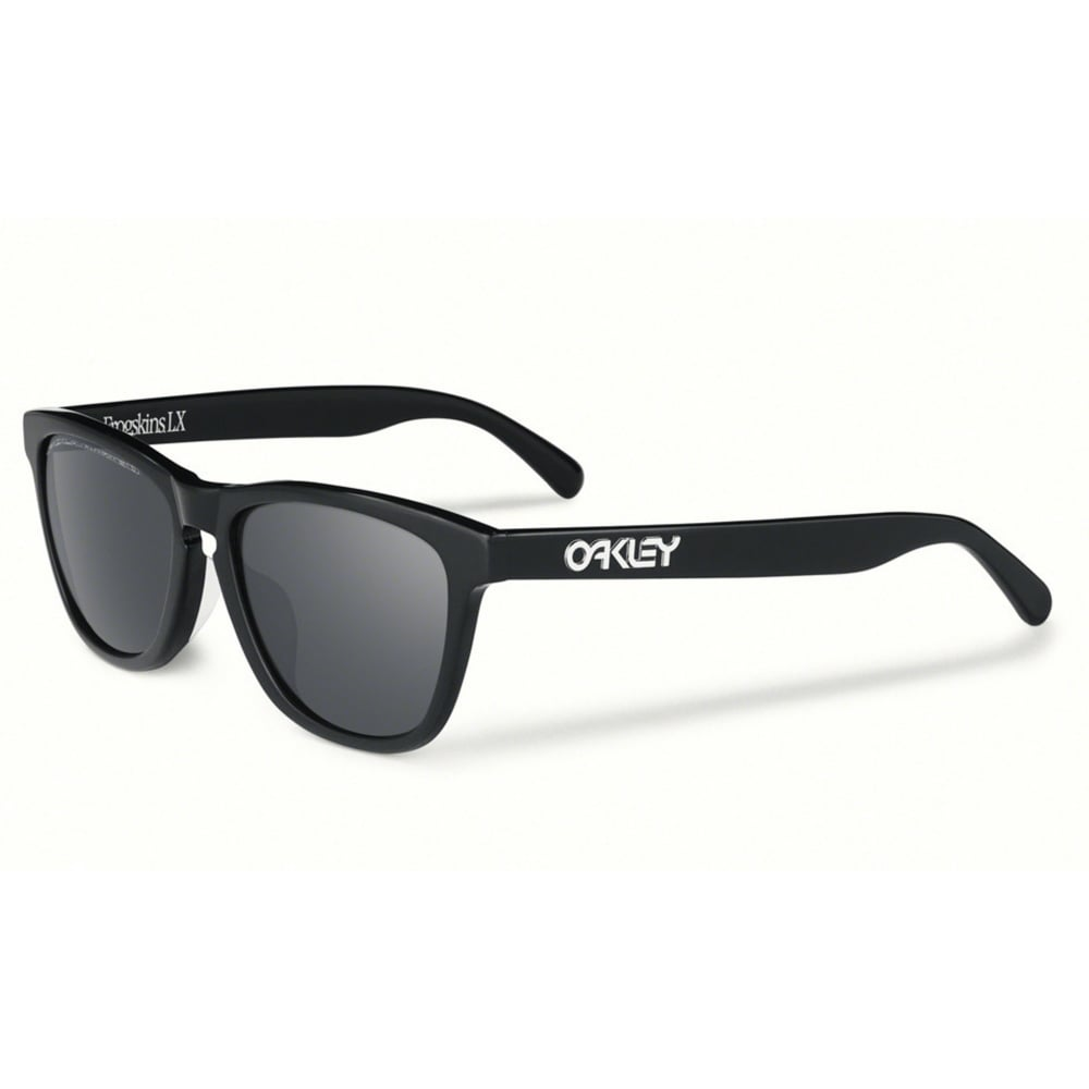 00ae1e369d6 Polarized Oakley Frogskins LX Sunglasses Polished Black OO2043-04