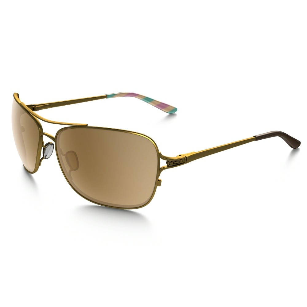 4a8274fcf0a Oakley Conquest Sunglasses Satin Gold Iris OO4101-03