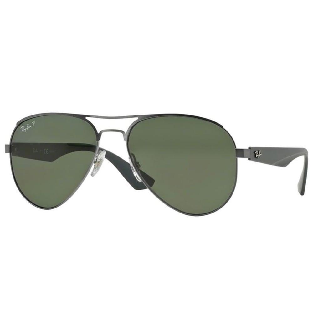 7775c572a1 Polarized Ray-Ban RB3523 Sunglasses Matte Gunmetal RB3523 029 9A