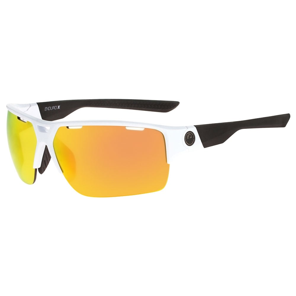 5fd3c97614ea3 Dragon EnduroX Sunglasses White Black 28688-101