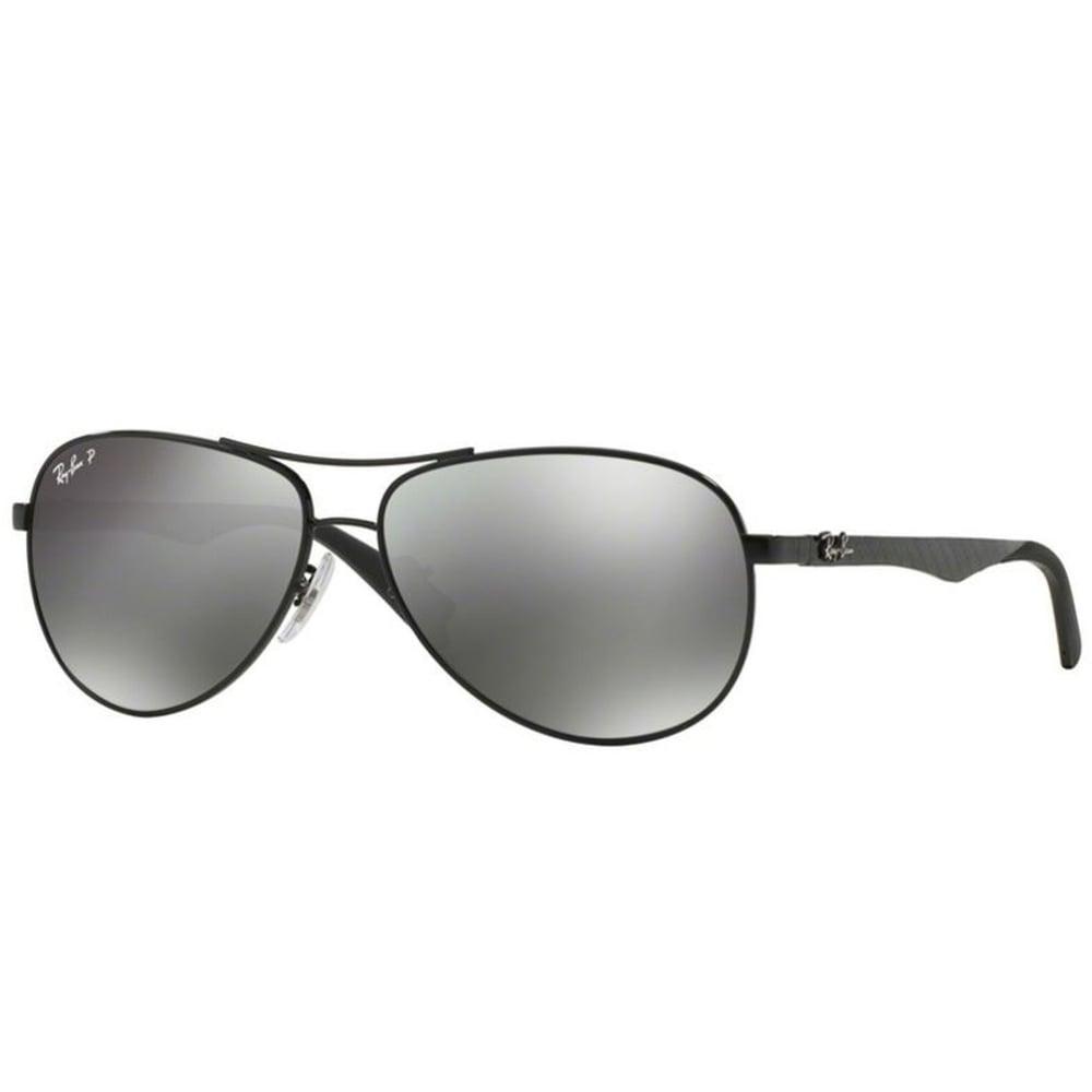 8080942b59a Polarized Ray-Ban RB8313 Sunglasses Shiny Black RB8313 002 K7 Small