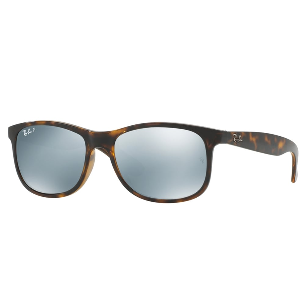 polarized ray ban sunglasses  Polarized Ray-Ban Andy Sunglasses Tortoise / Havana RB4202 710/Y4