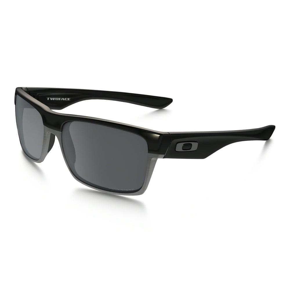 9755691cb1c Polarized Oakley TwoFace Sunglasses Polished Black OO9189-01