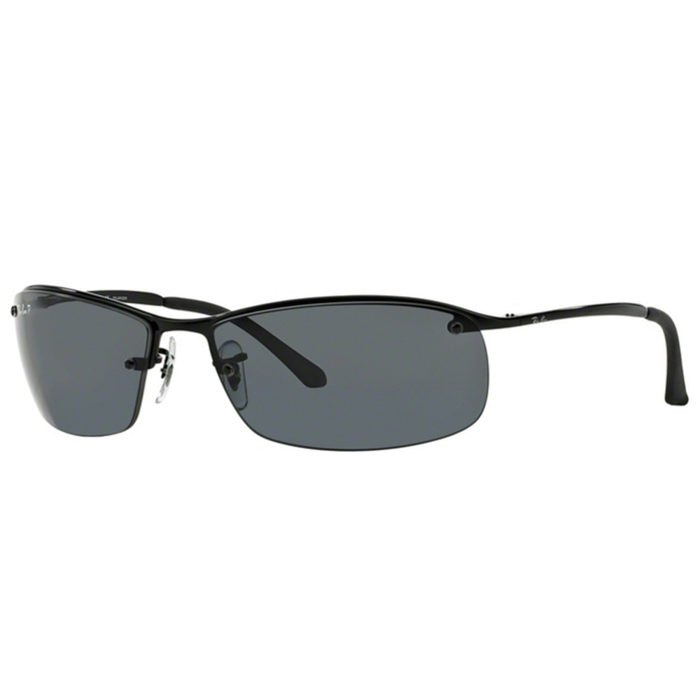 5af70d80ce Polarized Ray-Ban RB3183 Sunglasses Black RB3183 002 81