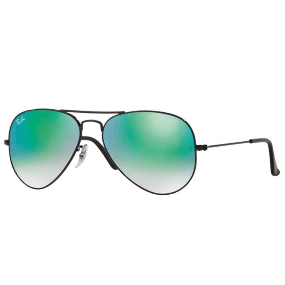 2eea5c9d79 Ray-Ban Aviator Sunglasses Black RB3025 002 4J