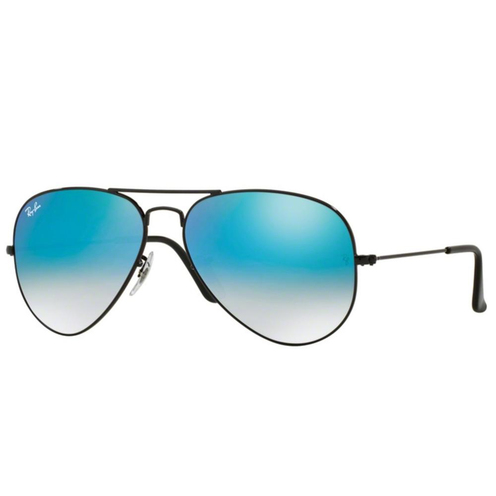 858975c54 Ray-Ban Aviator Sunglasses Black RB3025 002/4O