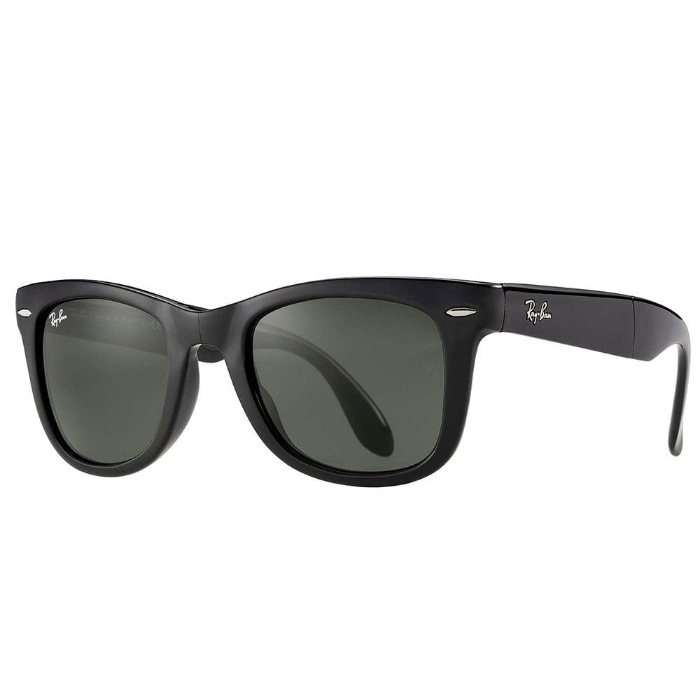 2abac7857bd Ray-Ban Wayfarer Folding Sunglasses Black RB4105 601