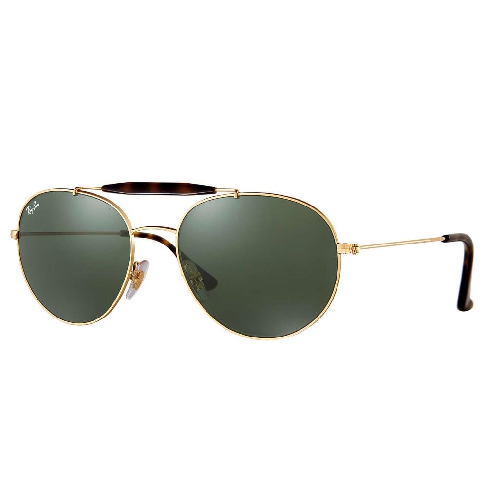 419ef0814e Ray-Ban RB3540 Sunglasses Gold RB3540 001
