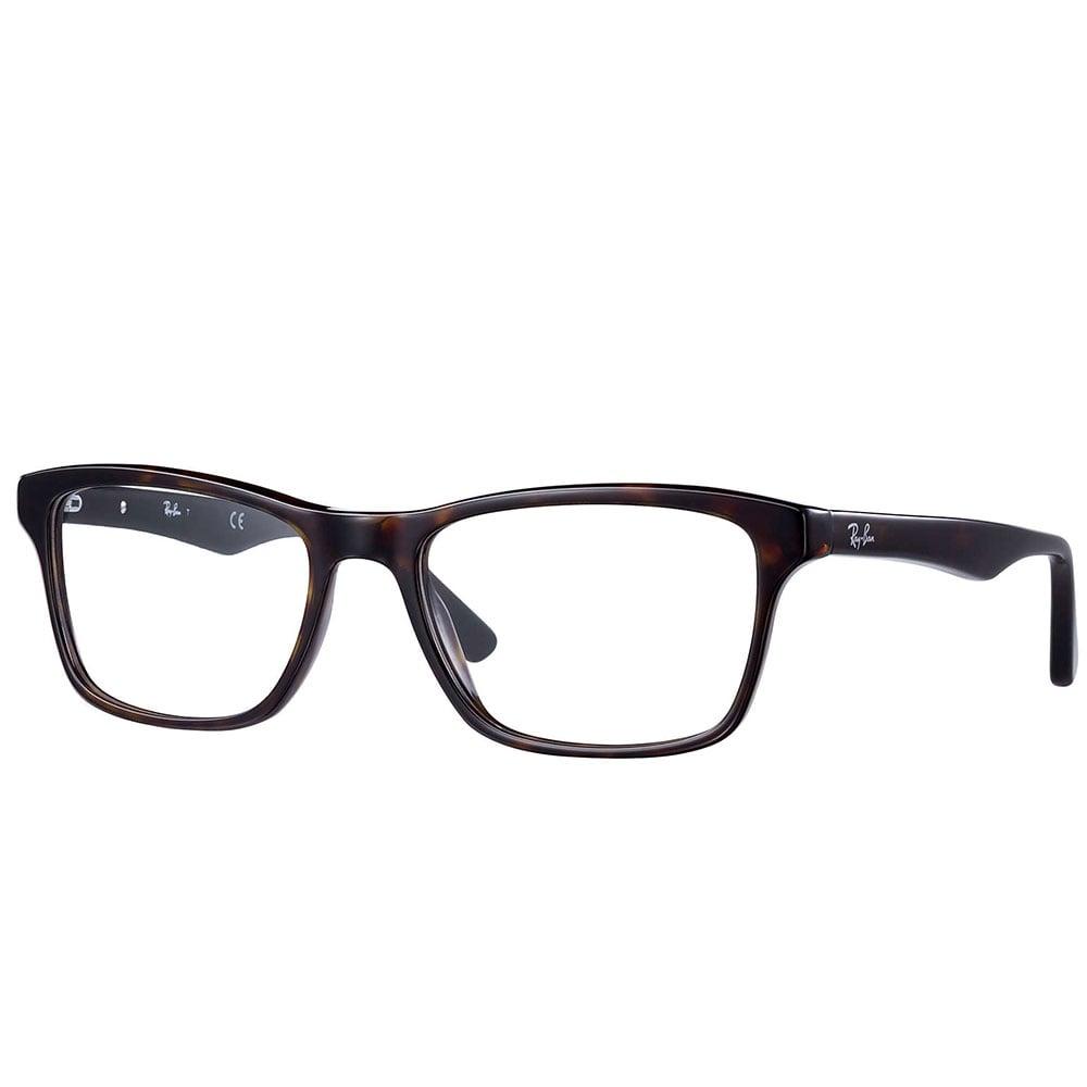 7d00dec716 Ray-Ban RX5285 Prescription Frame 54mm Black Transparent 0RX5285 2034 53