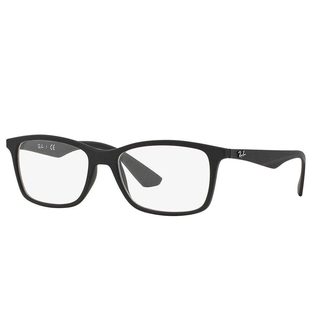 Ray-Ban RX7047 Prescription Frame 56mm Matte Black 0RX7047 5196 56