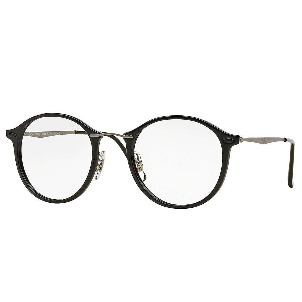 Ray-Ban RX7073 Prescription Frame 49mm Black 0RX7070 5365 52