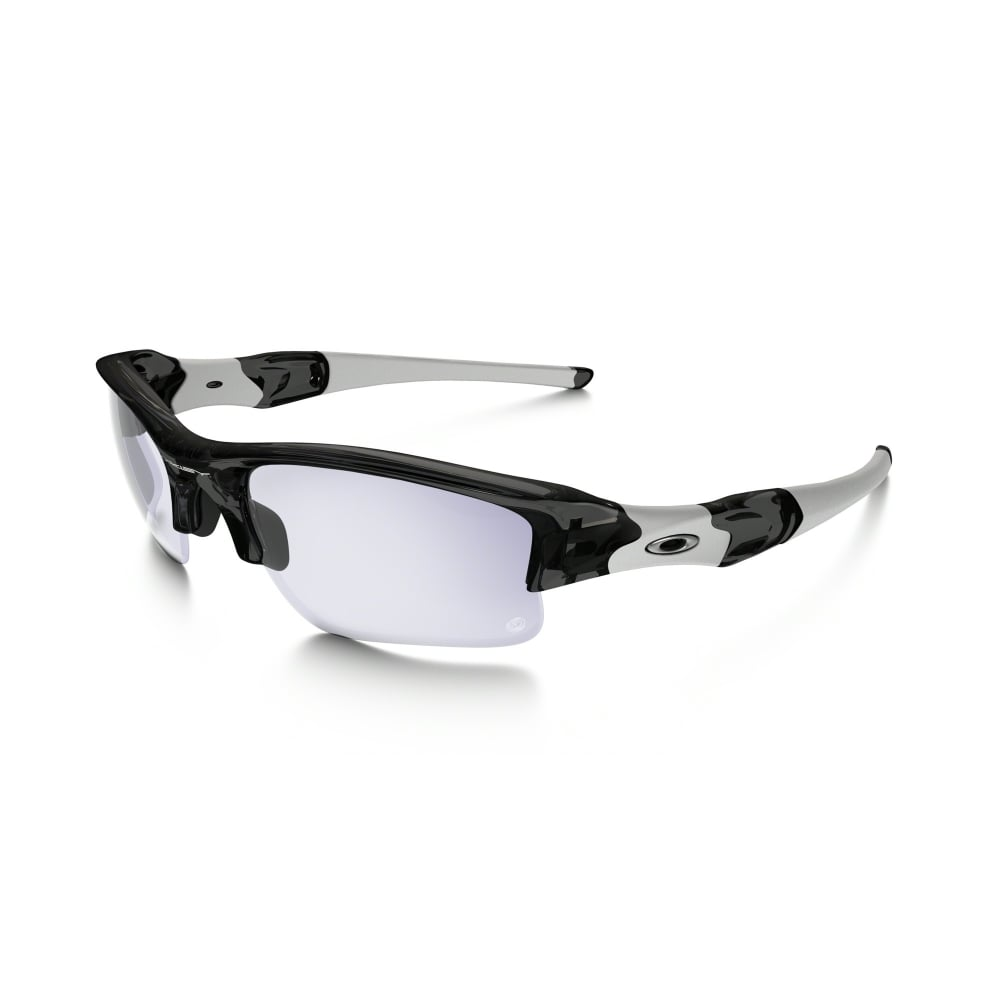 869606c0249 Oakley Flak Jacket XLJ Sunglasses Grey Smoke 03-897